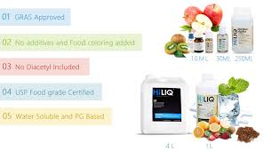 hiliq concentrated flavors 1 liter wholesale e cigarette liquid