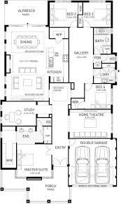 design houses plans magazine house ideas in 3d 4 bedrooms plan