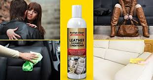 Sofa Leather Cleaner And Conditioner Booyah Clean Leather Cleaner U0026 Conditioner For Car Interiors Furnitu