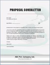 bid cover letter sample