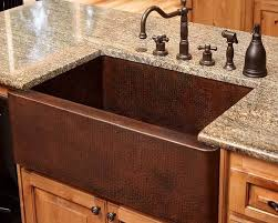 copper apron front sink copper farmhouse sink kitchen traditional with apron front sink
