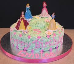princess cake ideas for girls disney princess cake front