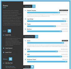 html resume template resume template html 50 best html resume cv vcard templates 2017