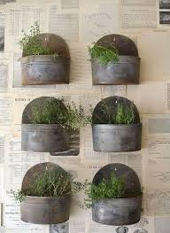Herb Garden Pot Ideas Wall Mounted Planters Insanely Cool Herb Garden Container Ideas