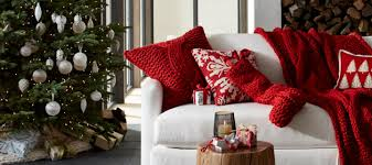 Decorative Items For Home Christmas Decorations For Home And Tree Crate And Barrel