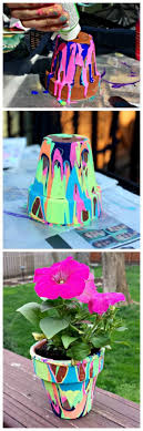 Painting Garden Pots Ideas 17 Creative Ideas To Decorate With Terra Cotta Flower Pots For