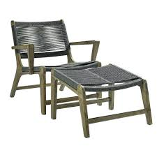 Patio Chairs With Ottoman Precious Patio Chair And Ottoman Ideas Wonderful Chairs With Slide