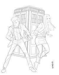 dr who coloring pages chuckbutt com