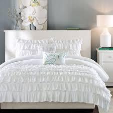 Ruffled Bed Set Intelligent Design Natalie 4 Or 5 Pc Duvet Set