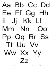 free printable alphabet alphabet printables printable letters