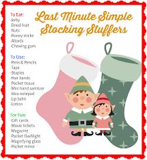 tenth day of minimalist christmas last minute stocking stuffers