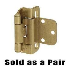 3 8 overlay partial wrap cabinet hinges knobs4less com offers amerock ame 51024 cabinet hinges burnished