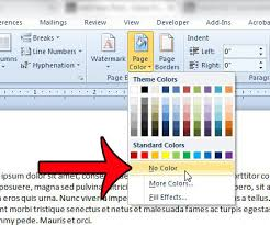 how to remove a background picture in word 2010 solve your tech