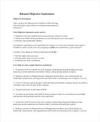 Generic Resume Objective Examples Resume Objective Statement Examples Lukex Co