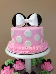 minnie mouse cake made for my cousins baby shower
