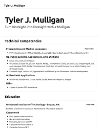 Example Basic Resume gallery for gt simple sample resumes sample of simple resume