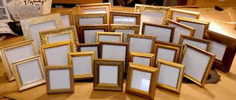 photo frame party favors one 1 small gold 5 x 5 frame for wedding party favors