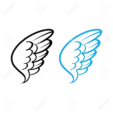 simple illustration of angels google search wings pinterest