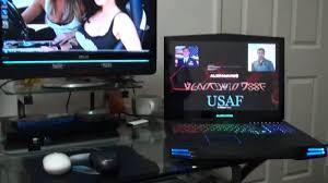 alienware pc laptop desktop gaming room 2011 youtube