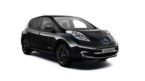 nissan leaf 2017 nissan leaf black edition electric car hatchback nissan