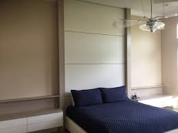 beige bedroom walls lucite nightstand modern miami with interior