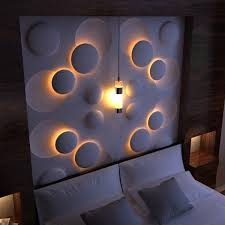 led light wall panels 12 3d wall panels with led lighting for evocative house walls top