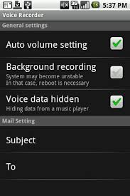 android voice voice recorder for android