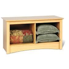 Outdoor Storage Ottoman Bench Baxton Studio Kaylee Modern Classic Light Blue Fabric Upholstered