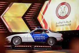 vintage porsche blue vintage porsche among abu dhabi police u0027s new look vehicles the