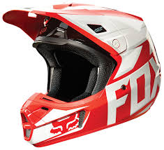 red dirt bike boots fox racing v2 race helmet cycle gear