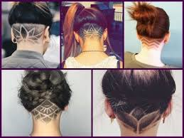 nape of neck hair cut for women trendy haircuts 2018 50 women s haircuts with back undercut design