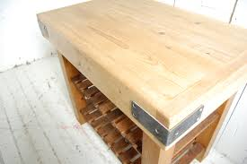 reclaimed timber butchers block style eastburn country furniture