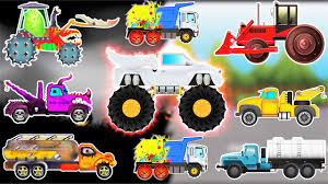 evil to good transformation w monster truck street vehicles for