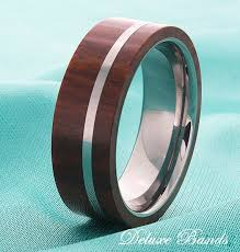 wedding band material best 25 wood inlay rings ideas on wood inlay wedding