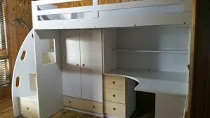 Loft Bed Gold Coast Bunk Loft Bed With Shelves Drawers U0026 Desk Beds Gumtree