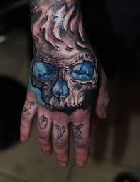 fist tattoo designs freehand tattoo skull hand hammersmithtattoo color tattoos