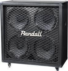 guitar speaker cabinets randall diavlo rd412 4x12 straight guitar speaker cabinet w