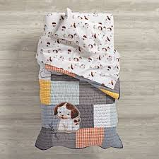 Dimensions Of Toddler Bed Comforter Poky Little Puppy Toddler Bedding The Land Of Nod