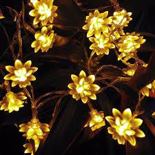 String Of Flower Lights by Novelty String Lights Flowers Med Art Home Design Posters