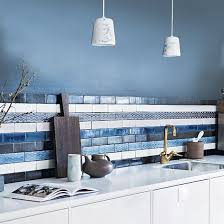 blue kitchen tile backsplash best 25 blue kitchen tiles ideas on blue subway tile