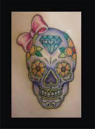 feminine skull design sugar skull skull engraved