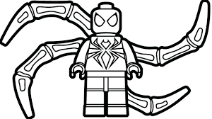 free printable amazing spider man coloring pages spiderman lego