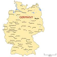map germany and map germany