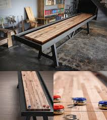 How Long Is A Shuffleboard Table by Shuffleboard Table By District Mfg Teak Outdoor Furniture
