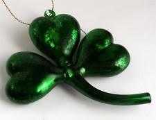 shamrock ornaments st s day ebay