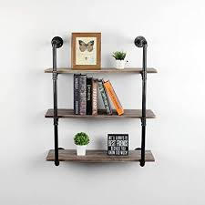 what of wood is best for shelves womio industrial pipe shelving wall mounted rustic metal floating shelves steunk real wood book shelves wall shelf unit bookshelf hanging wall