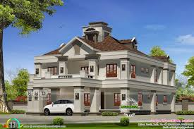Colonial Style Home 5 Bedroom Colonial Model Luxury House Kerala Home Design