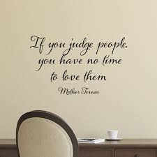 if you judge people wall quotes decal wallquotes com