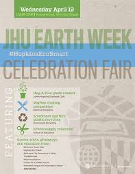 Jhu Campus Map Earth Week 2017 Sustainability Jhu