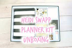 Junior Interior Designer Salary by New Heidi Swapp Planner Kit Unboxing Youtube